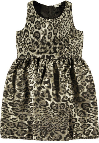 Name it Girls Leopard Print Party Dress