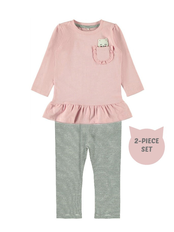Name it Baby Girl 2-Piece Top and Legging Set