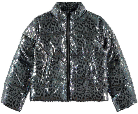 Name it Girls Foil Puffer Fashion Jacket