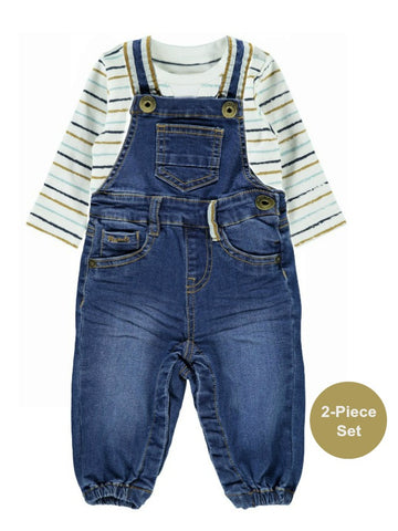 Name it Baby Boy 2-Piece Denim Dungaree Set