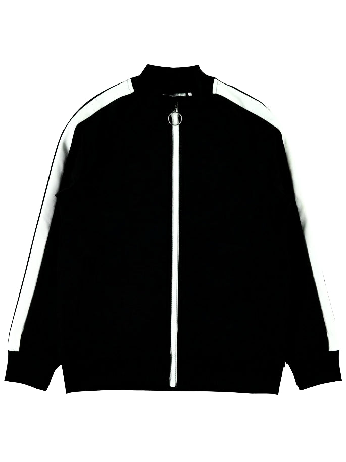 Name it Boys Black Zip-Up Sports Cardigan