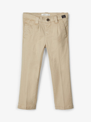 Name it Mini Boy Regular Fit Beige Chino Pants