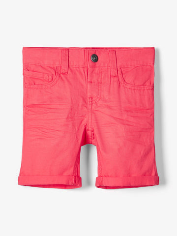 Name it Mini Boy Twill Cotton Shorts