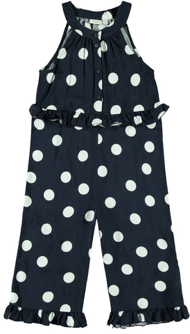 Name it Girls Pretty Polka Dot Jumpsuit