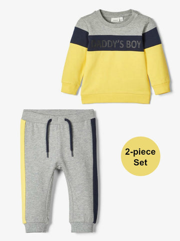 Name it Baby Boy 2-Piece Sweat Top and Pant Set