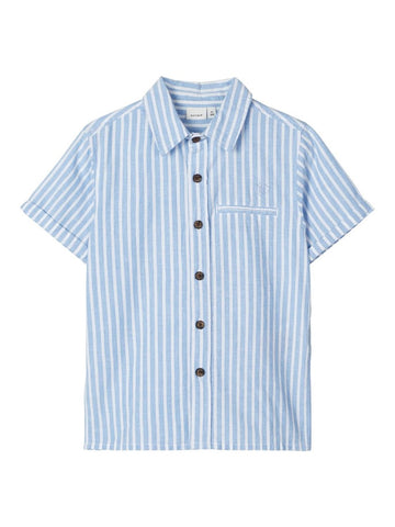 Name it Mini Boy Short Sleeve Stripe Shirt