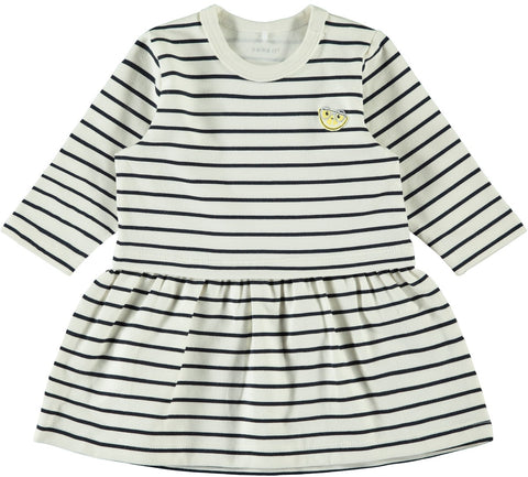 Name it Baby Girl 2-Piece Navy Dress Set