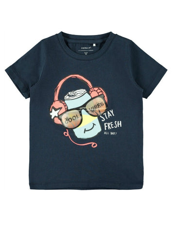 Name it Mini Boy Short Sleeved Cotton T-Shirt