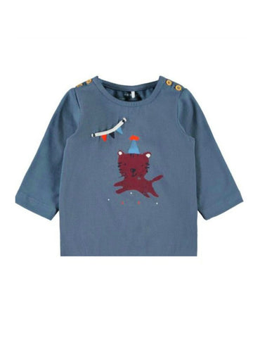 Baby Boy Long Sleeve Cotton Top