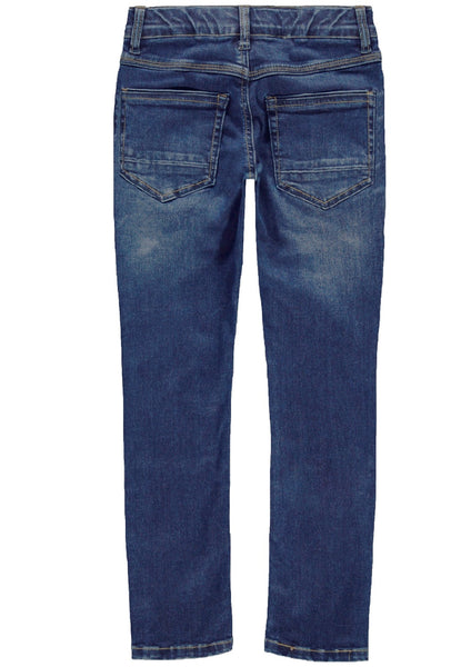 Name it Boys Elasticated Waist Jeans with Slim Fit Leg