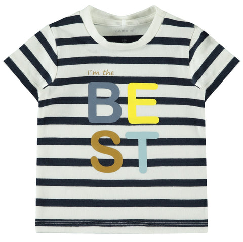 "Name it Baby Boy ""I'm The Best"" Short Sleeve Top"