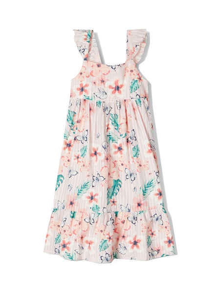Name it Mini Girl Summer Dress with Matching Hat