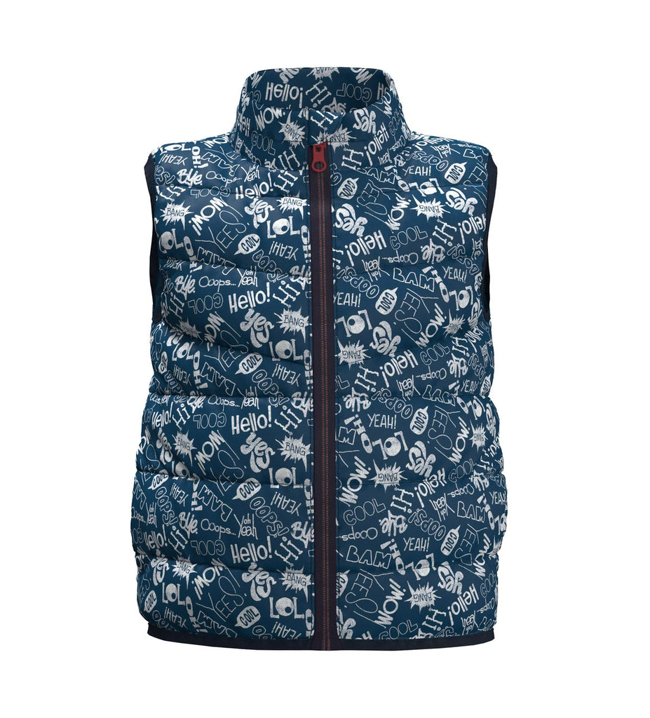 Name it boys padded sleeveless jacket