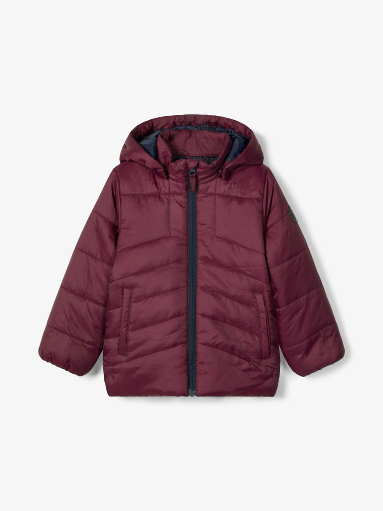 Name it Boys Padded Wine Winter Jacket