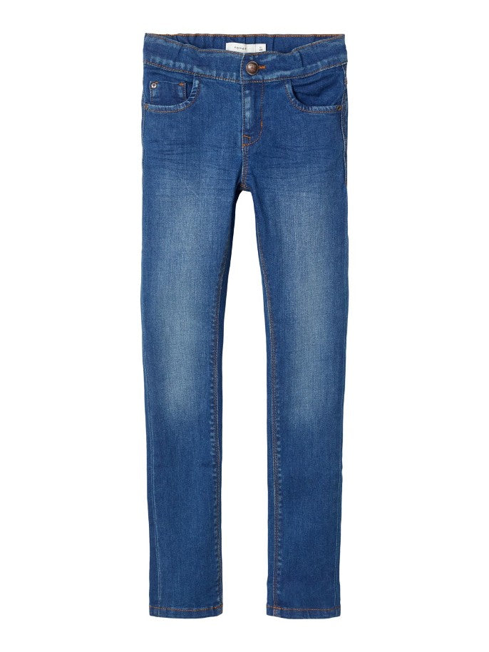 Name it Girls Stretch Denim Skinny Jeans