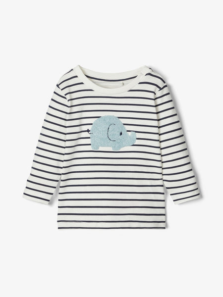 Name it Baby Boy Stars and Stripes Elephant Top