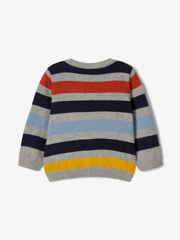 Name it Baby Boy Stripe Knitted Cardigan