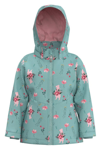 Name it Baby Girl Floral Winter Jacket
