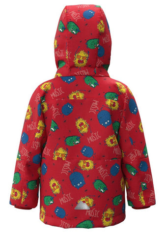 Name it Mini Boy Padded Winter Jacket Monster Theme