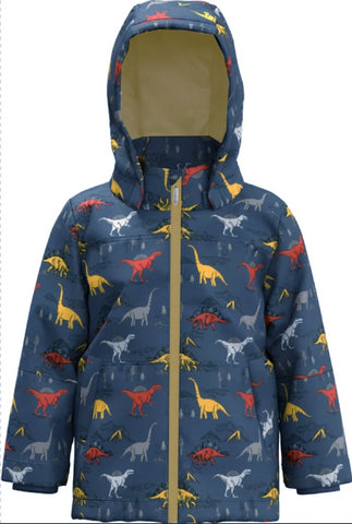 Name it Mini Boy Padded Winter Dinosaur Jacket