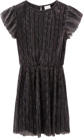 Name it Girls Black and Silver Sparkle Dress