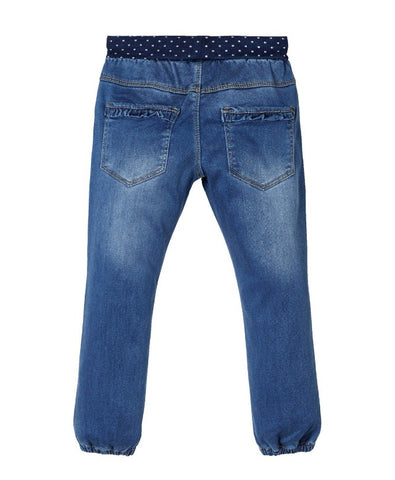 Name it Mini Girl Comfy Waist Pull-Up Jeans