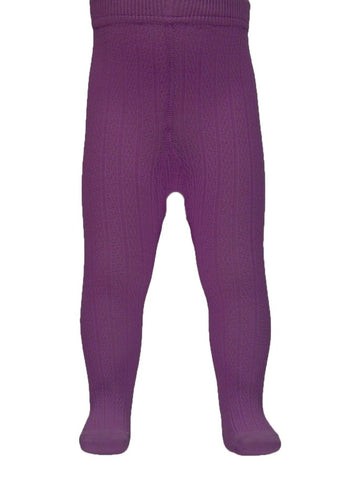 Name it Baby Girl Tights in Plum Colour