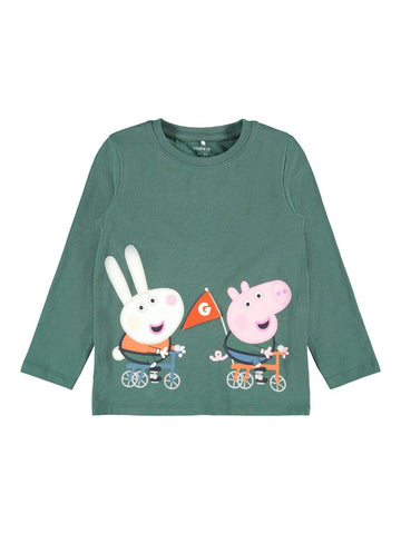Boys Peppa Pig Long Sleeved Top