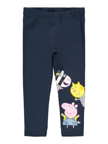 Girls Peppa Pig Colourful Cotton Leggings