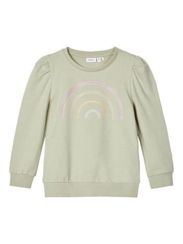 Name it Mini Girls Rainbow Sweatshirt