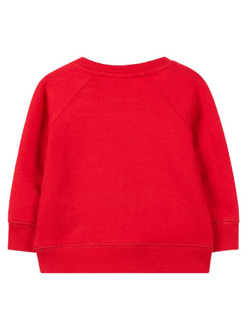 Name it Baby Girl Long Sleeved Sweat Top Red