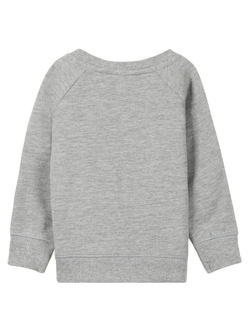 Name it Baby Girl Long Sleeved Sweat Top Grey