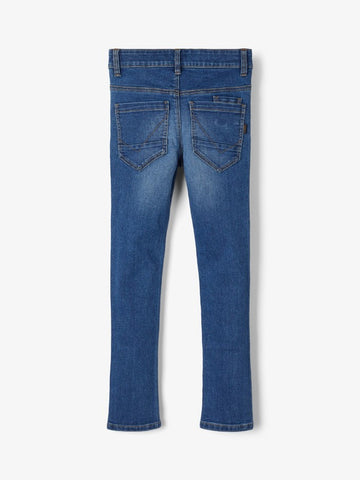 Name it Boys Medium Blue Denim Slim Fit Jeans