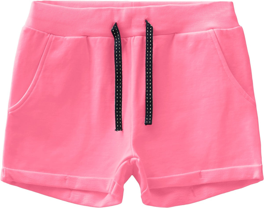 Name it Girls Pink Sweat Short with Pockets