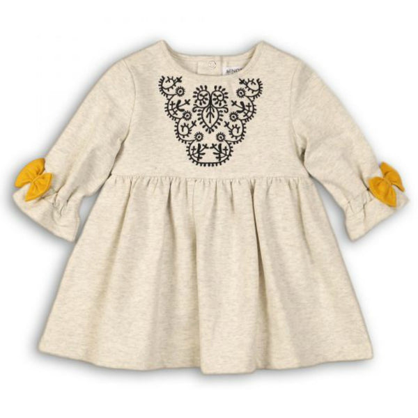 Minoti Baby Girl Sweat Dress