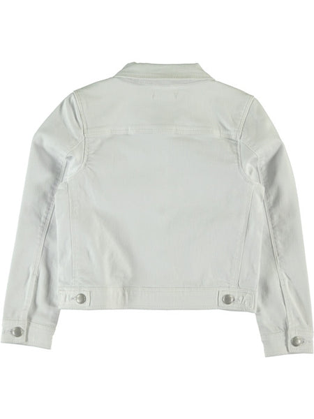 Name it Girls White Denim Jacket