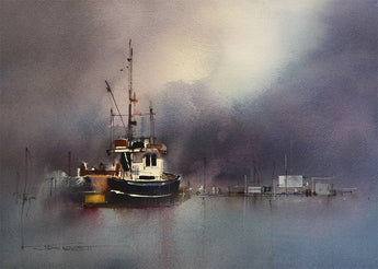 MASTERCLASS -  FRESH, LOOSE AND LIVELY – Extending Watercolor Techniques with John Lovett - July 2016