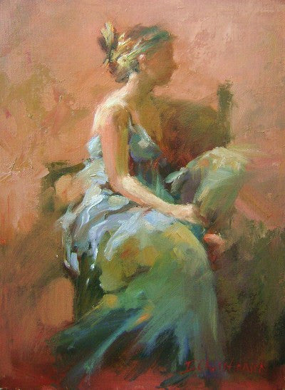 Ingrid Christensen Provided Two Intense Days Of Figure Painting That Highlighted Her Impressionistic Oil Techniques She Offered An Insight To Lush