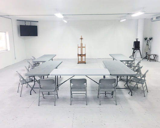 Workshop Rental at Ellis Art Studios