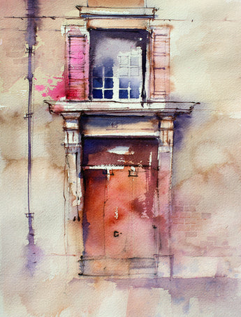 MASTERCLASS -  Compositional Watercolour Techniques with John Lovett - July 7th & 8th 2018