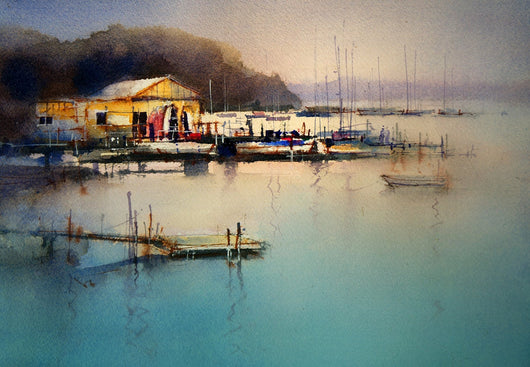 MASTERCLASS -  FRESH, LOOSE AND LIVELY – Extending Watercolor Techniques with John Lovett - July 2 & 3rd 2016