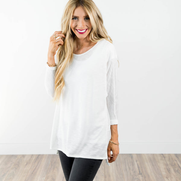 Abi Top in ivory