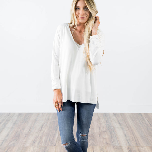 Katherine Top in Ivory