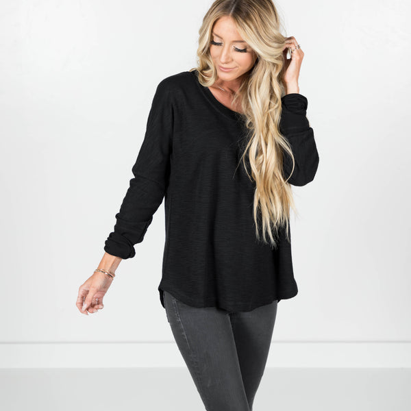 Crispin Sweater in Black