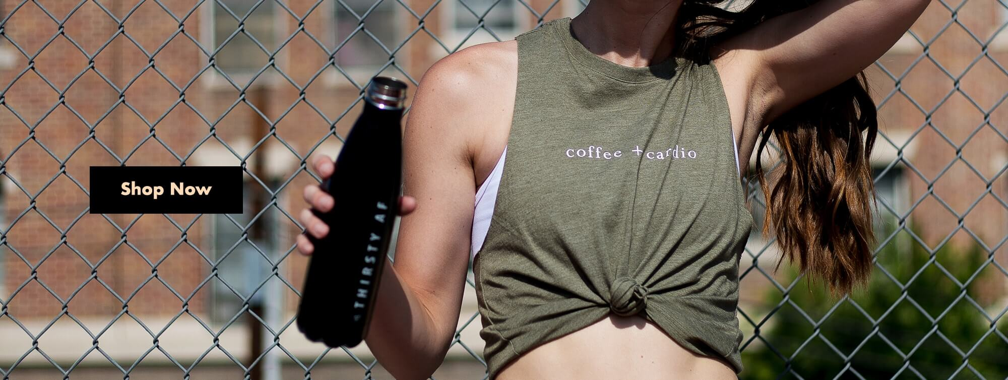 Coffee + Cardio Top