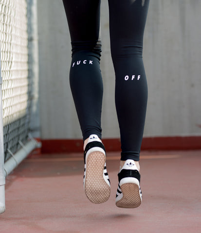 fuck off leggings