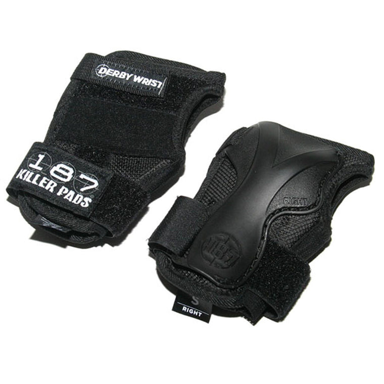 187 wrist guards Derby