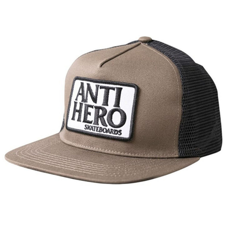Anti Hero Reserve Patch Snapback Brown Black