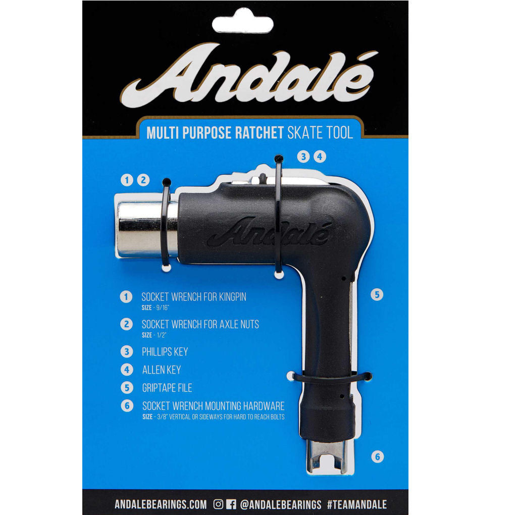 Andale Ratchet Skate Tool Black