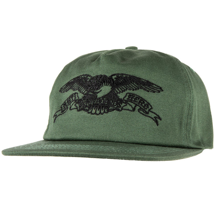Anti Hero Basic Eagle Embroidered Snapback